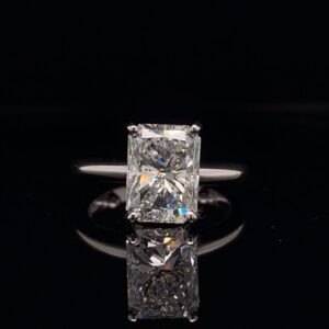 #1476-9726000 14K White Gold Solitaire EGL D SI1||#1476-9726000 14K White Gold Solitaire GIA F SI2