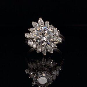 #2777A 1.3 ct. Old European Cut Diamond Ring Cinderella