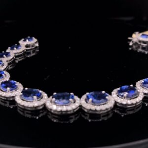 #281929 TAX-Bracelet 14K White Gold 6061