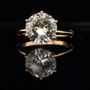#1482-9715000 3..30ct. 14K Yellow Gold Solitaire Engagement Ring K SI2