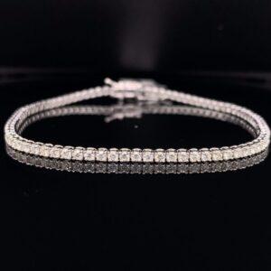 #B5882-972500 2ct. White Gold Tennis Bracelet