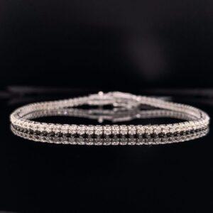 #B5586-971200 1ct. White Gold Tennis Bracelet