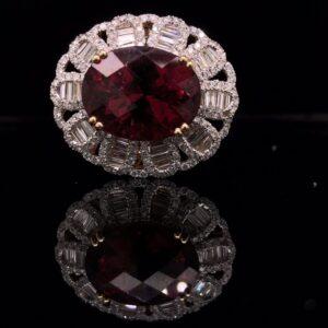 #287126 PTU-Ring 14K White Gold 7128