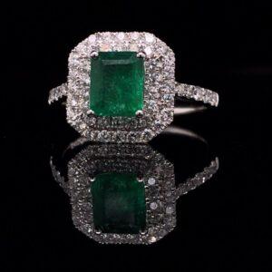 #299087 EM-Ring 14K White Gold 2816