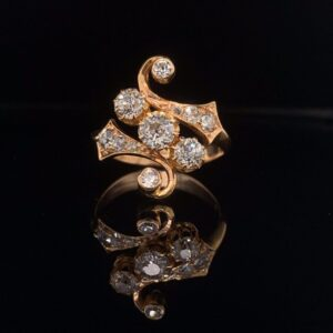 #2762-971500 1.00ctw Old European Cut Diamonds H color SI clarity
