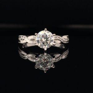 #2785-975500 1.49ct Round Brilliant Diamond J Color SI2 Clarity