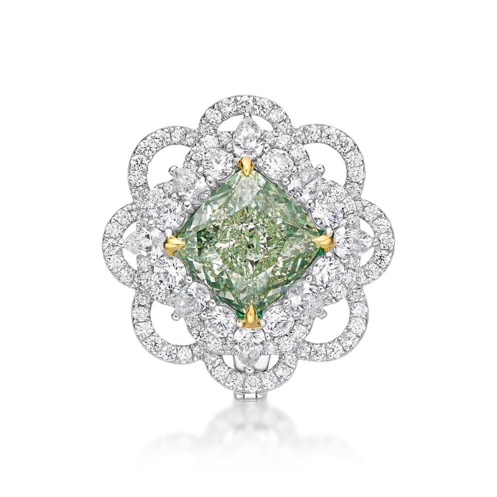 Green Fancy Ring