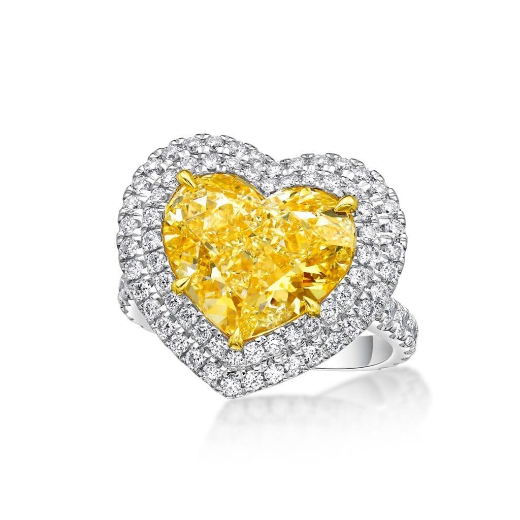 Yellow Fancy Ring