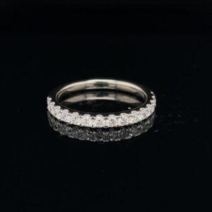 #Sept21B-971200 14K White Gold 0.5CTW Wedding Band